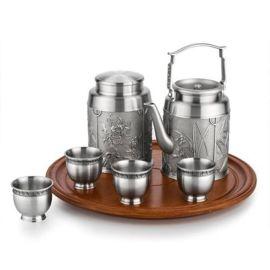 泰國錫器 四君子茶具 友情 藝術 收藏 慶典禮儀 贈禮