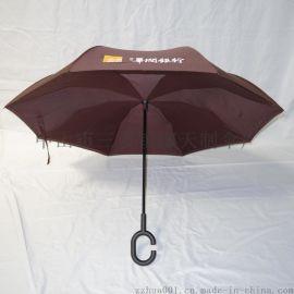实力厂商供应直杆伞晴雨广告伞汽车反向伞