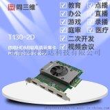 同三维T130-2D四路HDMI超高清音视频采集卡
