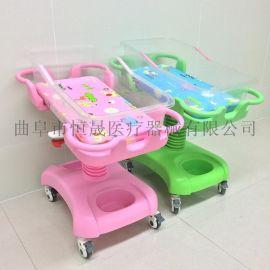 医用婴儿床月子中心婴儿车医院用不锈钢 ABS防吐奶