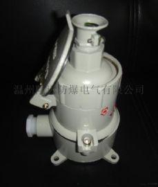 防爆插销插座AC-16/380V G3/4-ExdeⅡBT6-IP65