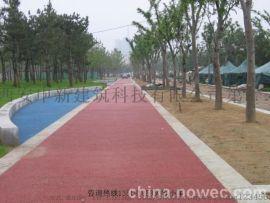 西安彩色陶瓷颗粒|西安硅PU塑胶跑道—【申新】绿色环保,无污染。