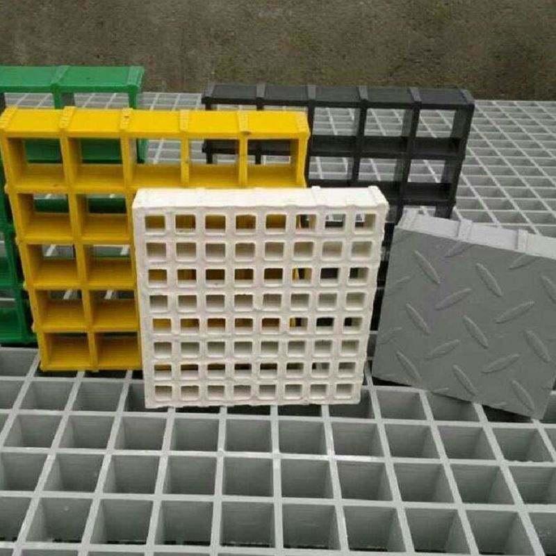 玻璃鋼排水格柵板玻璃鋼格柵 鑽井平臺格柵耐腐蝕