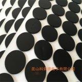 无锡黑色硅胶垫片圆形、磨砂硅胶垫片