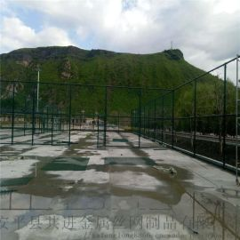 球场围网厂家 定制篮球场铁丝网 热镀锌篮球场栏杆