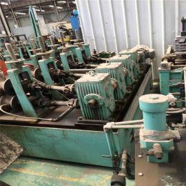 供应二手不锈钢圆管制管设备 高频不锈钢焊管机价格