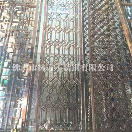 厂家直销镜面钛金不锈钢屏风隔断 古典装饰屏风