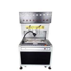 全自动彩纸滴胶机 PVC商标点胶机 多头硅胶点胶机