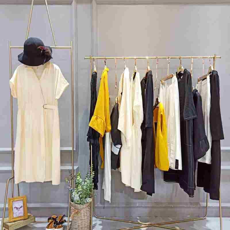 国内二线品牌女装丽比多折扣货源推荐广州明浩