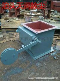 双层重锤翻板阀定做锦州重锤翻板阀材质