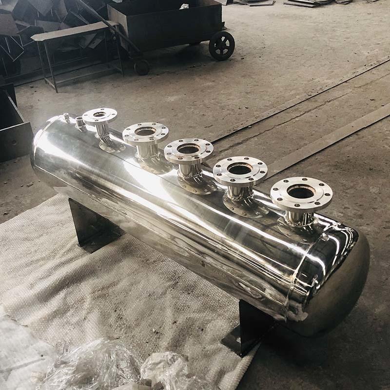 不鏽鋼儲氣罐 氧氣罐1立方不鏽鋼壓力罐 分氣缸