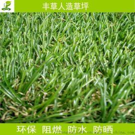 春草四色休閒人造草坪曲直加密PE模擬裝飾草皮