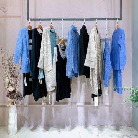 羊绒围巾短外套北京尾单货市场在哪里折扣女装 品牌服装女尾货批发