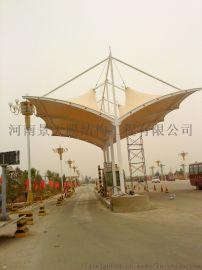 景天节能环保阻燃型膜结构加油站