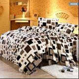 床笠式法莱绒套件珊瑚绒被套毛毯法兰绒4四件套 批发