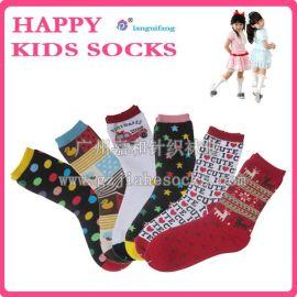 秋冬中筒外贸童袜, 30双童装男童女童宝宝儿童纯棉袜
