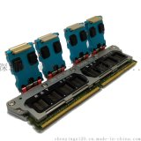 DDR4*8測試治具 rubber結構 高頻高速