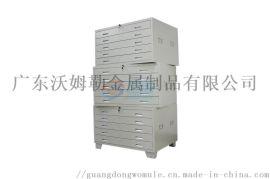 文件柜定制办公家具厂家铁皮金属资料柜玻璃门档案柜矮柜中二斗