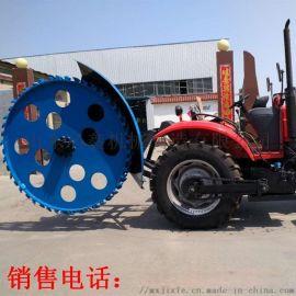 悬挂式拖拉机开沟机 农用施肥开槽机