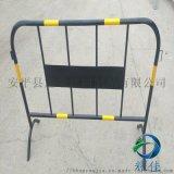 耀佳可移动护栏伸缩围栏铁马可动加工定做护栏