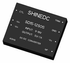 中功率电源模块(SD15-24D05)