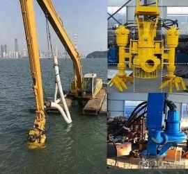 200钩机负载液压沙浆泵 挖掘机泥沙泵 排沙更简单