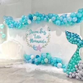 昆明花語花香婚禮氣球裝飾求婚氣球布置婚房氣球裝飾