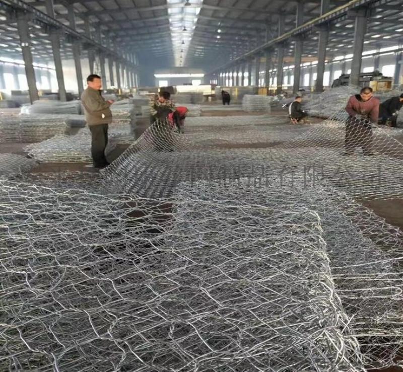 河道专用格宾笼/护堤石笼网/水利雷诺护垫厂家