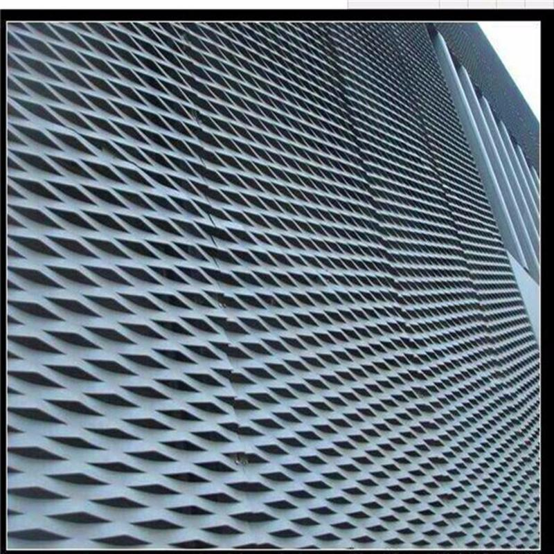 幕牆裝飾板,擴張網,鋁拉網