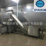 厂家直供广式腊肠全套加工设备 舒克厂家直供猪肉灌肠整套生产机