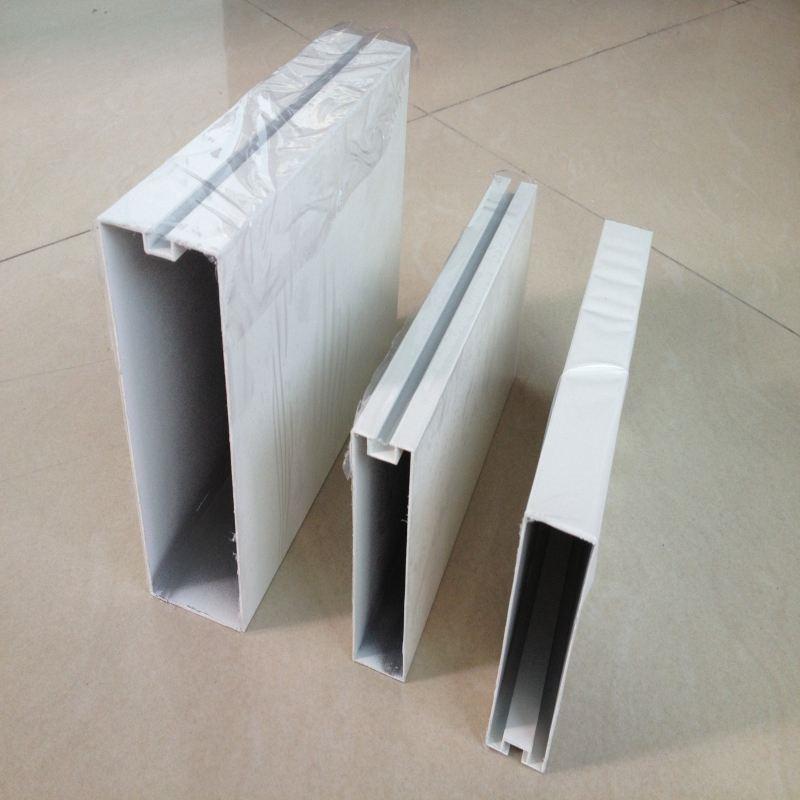 定制天花幕墙铝方通吊顶仿木纹装饰铝方通厂家直销