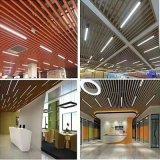 熱轉印木紋鋁方通 50*50高檔辦公室U型條形天花吊頂