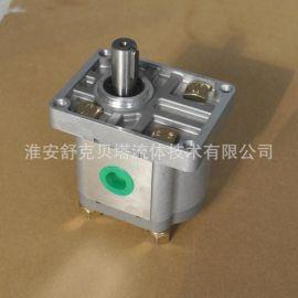 CBN310-单键右旋-18轴铝合金系列齿轮泵