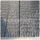 天然石材廠家流水板背景牆 假山幕牆灰色 綠色流水石