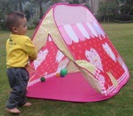 儿童玩具儿童帐篷,超大游戏屋心形图案帐篷,可爱粉色碎花