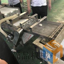 尚品供应鱼块上浆机 自动鱼条上浆裹粉机