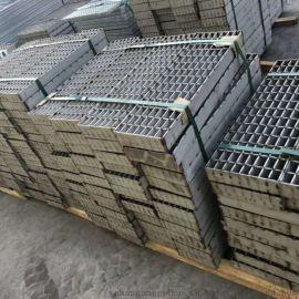 厂家定制镀锌踏步板平台板防滑耐腐蚀镀锌钢格板格栅板