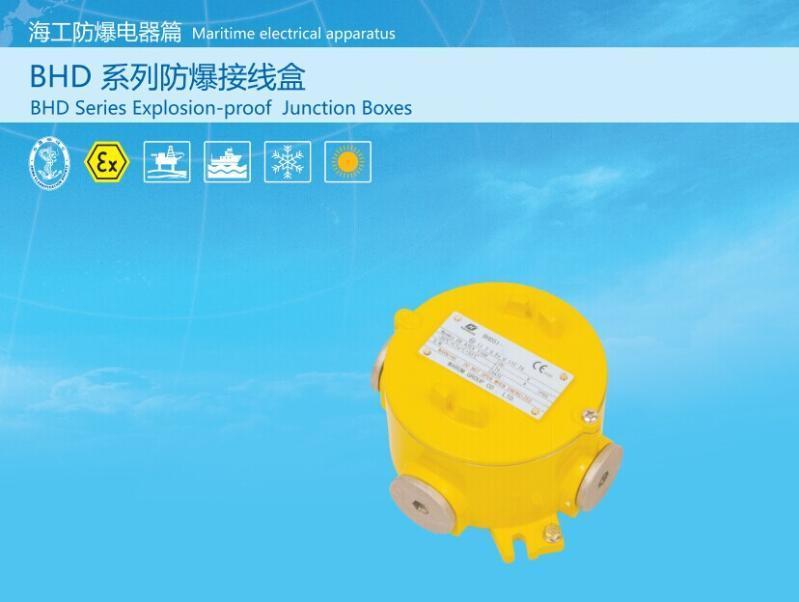 防爆接線盒BHD51- ATEX認證CU-TR   證書
