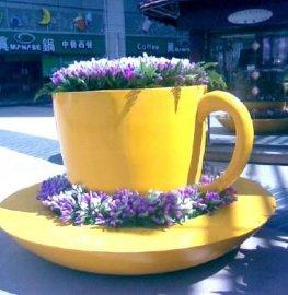 景观艺术花盆 玻璃钢花盆 商场中庭景观花盆