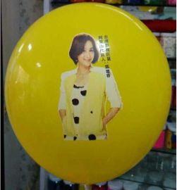 印刷人物肖像气球广告气球