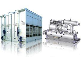 国祥空调蒸发冷凝分体式螺杆冷水机组