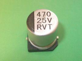 SMD电解电容/贴片电解电容470UF25V 10X10.2