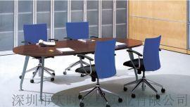 深圳天时办公家具板式会议桌 钢架会议台
