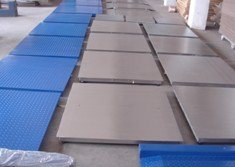 SCS1吨地磅秤,1吨单层电子地泵