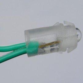 12mm外露字灯串,冲孔字LED灯串,广告标识外露灯