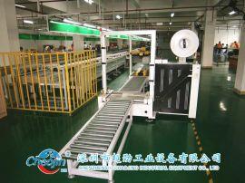 深圳自动包装线 中山组装线 东莞电子电器产品打包线