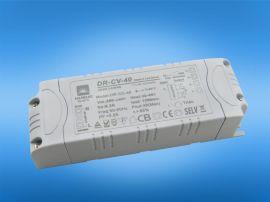 定制LED电源 常规长版 圆形 方形驱动器 12-100w恒流恒压