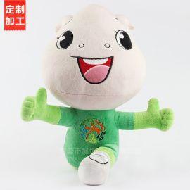 工廠OEM定製毛絨吉祥物公仔來圖來樣定做加工毛絨玩具娃娃玩偶