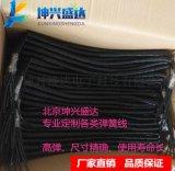 热销坤兴盛达医疗设备用螺旋弹簧线缆4*0.1平方 PU聚氨酯高弹护套
