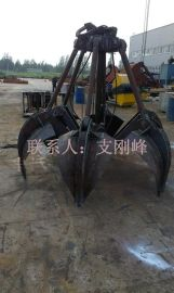 单绳悬挂抓斗XZ5配用2吨起重机0.5立方,葫芦抓斗,抓煤斗